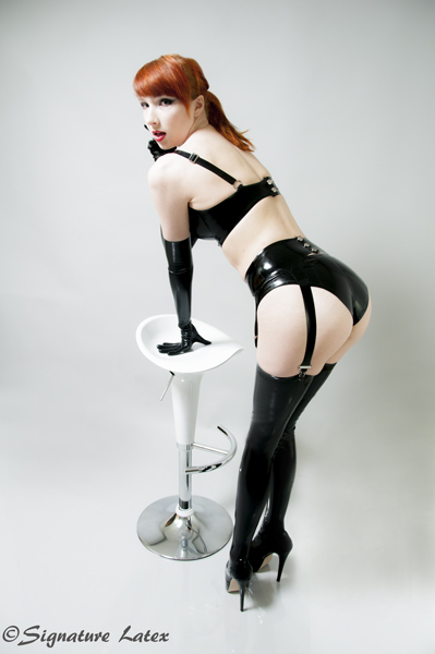 Latex stockings,latex Classic Stockings, latex Made to measure stockings