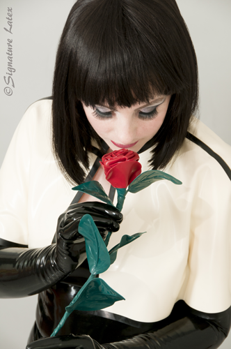 Latex Rose