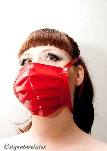 Surgical Mask Red E